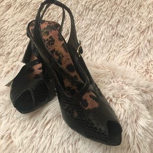 Sam Edelman snakeskin heels